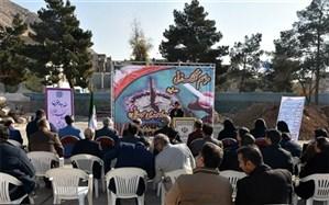 برگزاری مراسم کلنگ زنی مدرسه خیرساز در شهرری