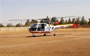 امکان استفاده از اورژانس هوایی در تکاب فراهم شد