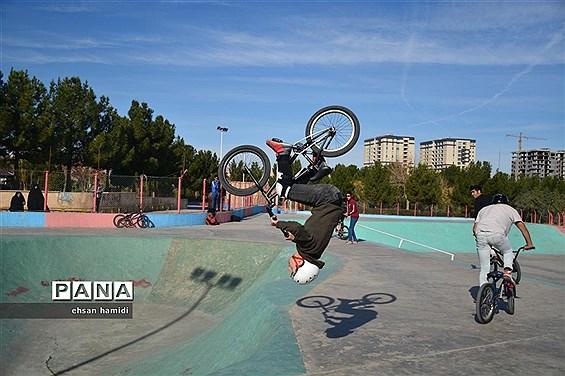 برگزاری مسابقات دوچرخه سواری «MMX» قهرمانی کشور