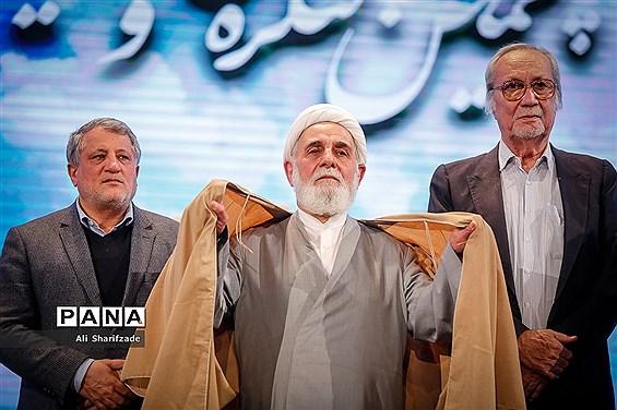 تصویر/ ناطق نوری و محسن هاشمی در یک قاب