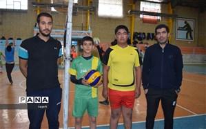 آغاز مسابقات والیبال قهرمانی دانش آموزان مدارس متوسطه  چناران