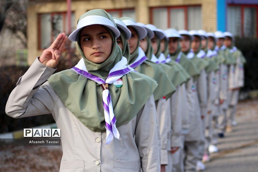 اردوی پیشتازان قطب پنجم سازمان دانشآموزی شهرستانهای استان تهران