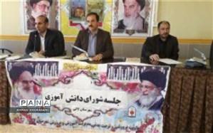 جلسه شورای دانش آموزی مدارس شهرستان لالی برگزار شد