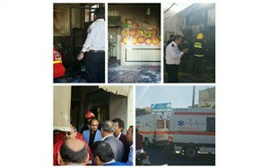 آتشسوزی در یک واحد آموزش ابتدایی: دو دانشآموز فوت کردند