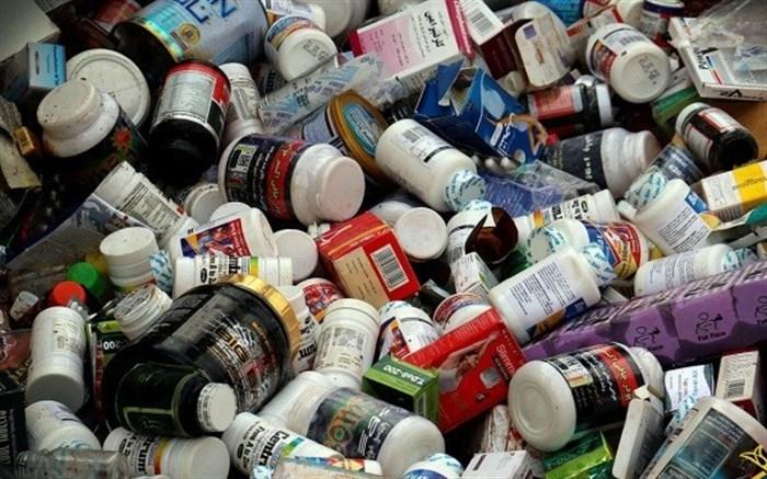 کشف بیش از ۱۷ هزار عدد انواع داروی غیر مجاز در میاندوآب