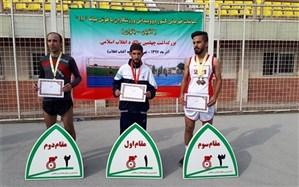 دانش آموز با نیاز ویژه کم توان ذهنی  کردستانی  مدال طلا مسابقات دوومیدانی قهرمانی کشور را بر گردن آویخت