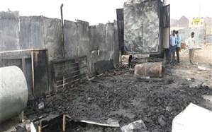 رئیس سازمان آتش نشانی و خدمات ایمنی شهرداری بیرجند: آتش سوزی در انبار ضایعات پلاستیک و کارتن بیرجند