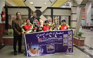 ورود دانش آموزان مقام آور استان بوشهر در مسابقات جهانی UCMAS