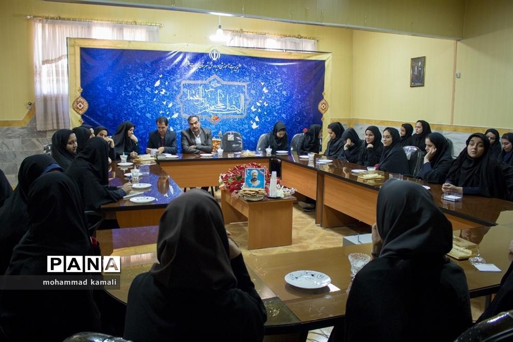 نشست اعضای شوراهای دانشآموزی محلات