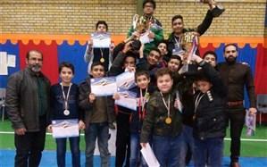 کسب مقام اول مسابقات شطرنج دانش آموزان شهریاردراستان تهران