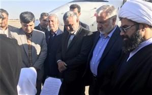 وزیر جهاد کشاورزی وارد سیستان شد