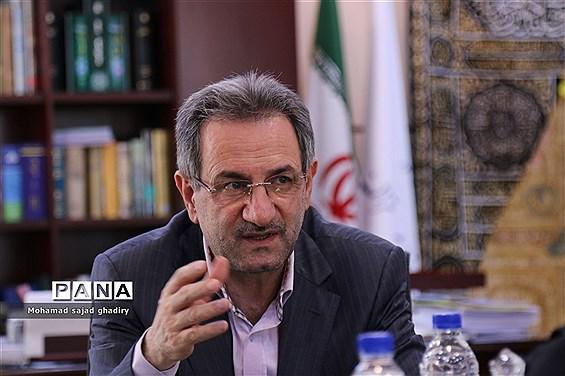 دیدار صمیمی استاندار تهران  با مدیرکل آموزش و پرورش شهر تهران