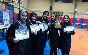 درخشش دانش آموزان دخترشهر قدس درمسابقات شطرنج شهرستانهای استان تهران
