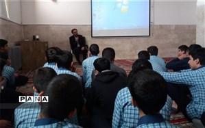 گرامیداشت هفته پژوهش در دبیرستان شهید رمضانخانی