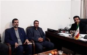 بازدید دوره ای اعضای هسته گزینش اداره کل آموزش وپرورش شهرستانهای استان تهران  از شهرری