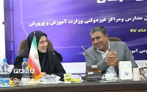 سخنرانی نماینده مجلس دانش آموزی در گردهمایی رؤسای آموزش و پرورش شهرستانها و مناطق استان کرمان