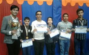 کسب مقام اول استان توسط تیم شطرنج پسران شهر قدس