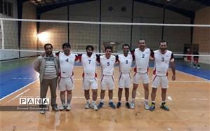 حضور تیم والیبال اداره کل راه و شهرسازی خراسان شمالی در مسابقات ورزشی کارکنان دولت