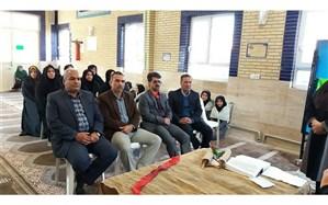 بازدید مسئولان و مدیران شبانهروزی متوسطه اول و دوم از دبیرستان حضرت زینب س کاشمر