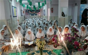 برگزاری محفل دانش آموزی انس با قرآن کریم درشهرری
