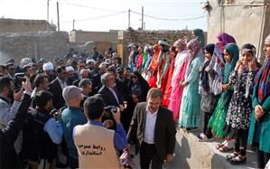 وزیر کشور از روستای بوالخیر تنگستان بازدید کرد