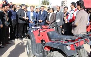 افتتاح نمایشگاه ماشین آلات امدادی و عملیاتی