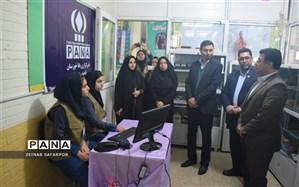 افتتاح همزمان دو پایگاه خبرگزاری پانا درمدارس ناحیه ۳ اهواز