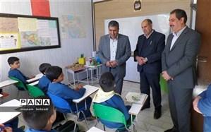 بازدید مدیرکل آموزش و پرورش استان کرمان  از مجتمع آموزشی ایرانیان بنیاد فرهنگی قدس فرهنگیان
