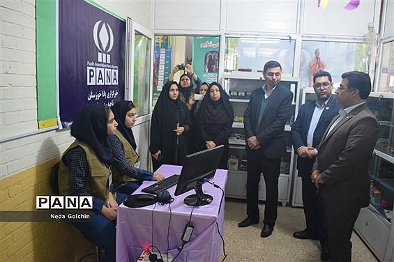 افتتاح همزمان دو پایگاه خبرگزاری پانا در مدارس ناحیه ۳ اهواز