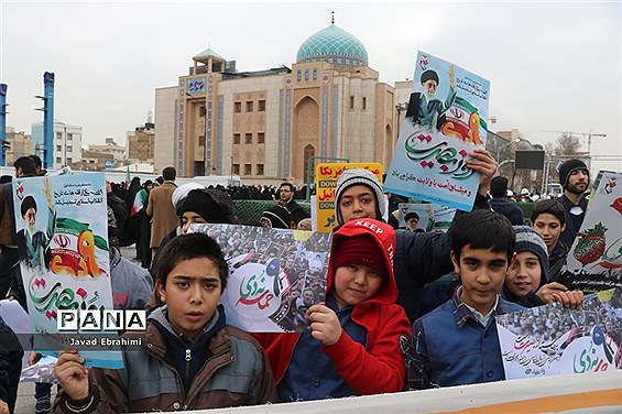 راهپیمایی 9 دی در مشهد
