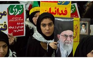 نمایش بصیرت مردم انقلابی اردبیل در نهمین سالگرد حماسه 9 دی