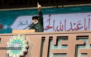 سردار سلامی در مراسم ۹ دی  تهران: عقل استراتژیک آمریکا زوال یافته است