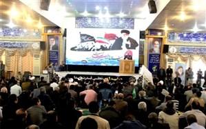 مراسم گرامیداشت حماسه 9 دی با حضور باشکوه مردم بصیر شهر بوشهر برگزار شد