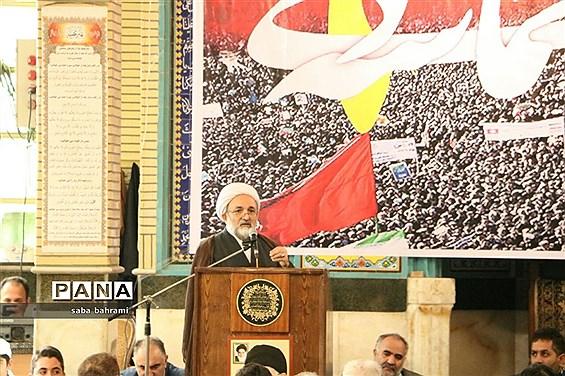 برگزاری مراسم گرامیداشت حماسه 9 دی در شهر قدس