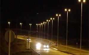 تامین و نگهداری روشنایی ۱۴۳ کیلومتر از محورهای برون شهری آذربایجان غربی