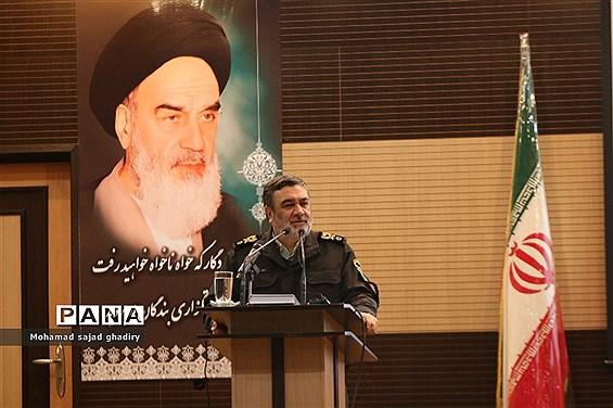 همایش عمومی فرماندهان، روسا و مدیران فرماندهی انتظامی تهران بزرگ