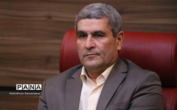 جلسه تودیع و معارفه مدیرکل آموزش و پرورش شهرستانهای استان تهران