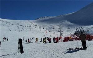 پیست بین المللی اسکی دیزین بازگشایی شد
