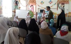 برگزاری کارگاه توجیهی خبرنگاری ویژه دانش آموزان ابتدایی مدارس دخترانه ناحیه یک