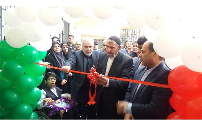 افتتاح مدرسه شاه حسینی