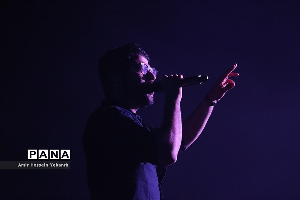کنسرت حامد همایون در جزیره کیش