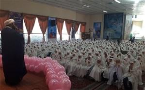 برگزاری با شکوه جشن  تکلیف دانش آموزان دختر مقطع ابتدایی ناحیه 6 مشهد مقدس