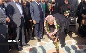 آیین کلنگ زنی مدرسه خیرساز حاج سیدعلی جناب در ناحیه 4 اصفهان برگزارشد