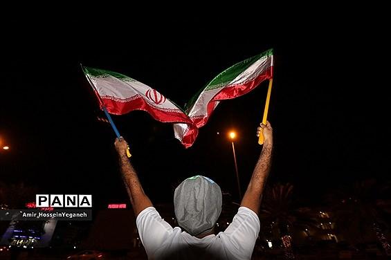 تماشای بازی ایران و یمن در جزیره کیش
