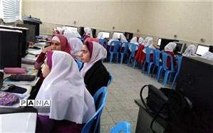 برگزاری کلاس آموزش کامپیوتر ویژه دانش آموزان دبستان دخترانه سید الشهدا