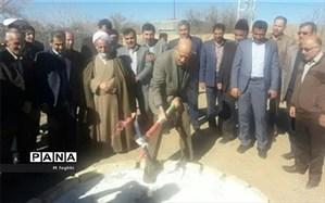 کلنگ احداث هنرستان خیرساز استثنایی ملک ۴ نجف آباد زده شد