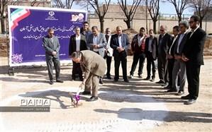 کلنگ احداث تالار همایش های هتل آسمان کرمان به زمین زده شد