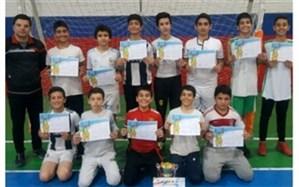 برگزاری مسابقات هندبال مقطع ابتدایی آموزشگاه های پسر شهرستان شهریار