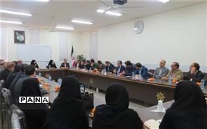 نشست مشترک دبیرستان استعدادهای درخشان بابل و دبیرستانهای استعدادهای درخشان ناحیه 2 یزد