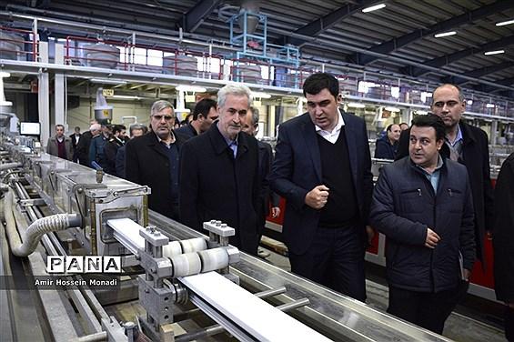 بازدید استاندار آذربایجان شرقی از شهرک سرمایهگذاری خارجی